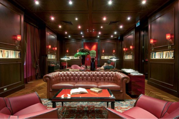 Aleph Rome (1) Tihany design 25 best interior design projects  by Tihany design Aleph Rome 22