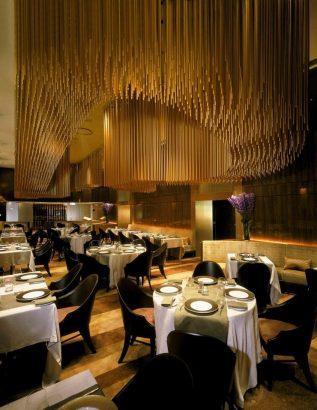 Restaurants Amber Tihany design 25 best interior design projects  by Tihany design Amber 2