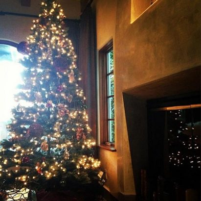inspiring decorations of celebrities christmas trees ashley tisdale christmas tree celebrities christmas trees inspiring decorations - Celebrities Christmas Decorated Homes