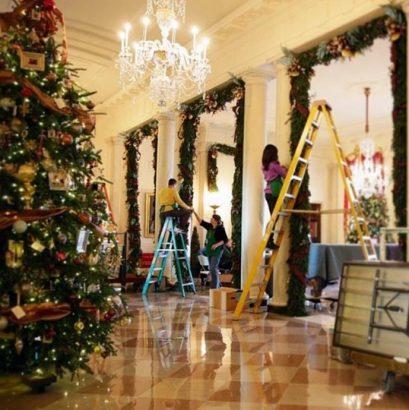 Inspiring decorations of celebrities Christmas trees celebrities Christmas trees Inspiring decorations of celebrities Christmas trees Inspiring decorations of celebrities Christmas trees Barak Obama luxury decor