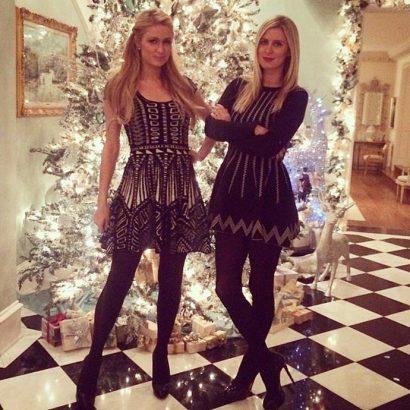 Inspiring decorations of celebrities' Christmas trees Paris Hilton and Nicky Hilton celebrities Christmas trees Inspiring decorations of celebrities Christmas trees Inspiring decorations of celebrities Christmas trees Paris Hilton and Nicky Hilton