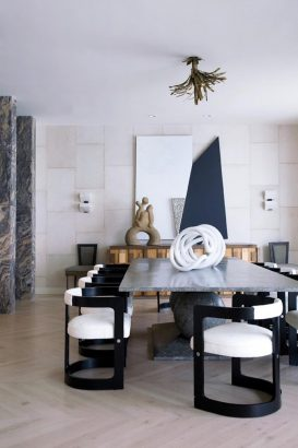 Get inspired with Kelly Wearstler's dining room ideas Kelly Wearstler Get inspired with Kelly Wearstler's dining room ideas Get inspired with Kelly Wearstlers dining room ideas 4 Copy