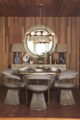 Get inspired with Kelly Wearstler's dining room ideas Kelly Wearstler Get inspired with Kelly Wearstler's dining room ideas brown dining room Copy