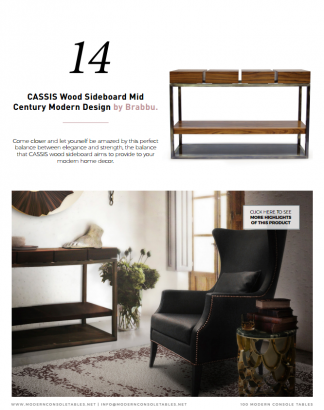 Modern console tables free e-book - Download2